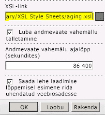 Kleebitud XSL-link