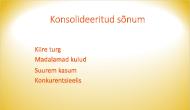 Värviastmikuga slaidi tausta näide