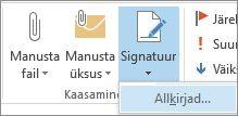Käsk Signatuur