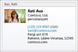 Kontakti vCard