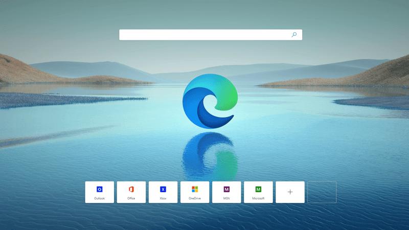 Microsoft Edge'i töölaud