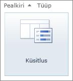 SharePoint 2010 ikoon Küsitlus