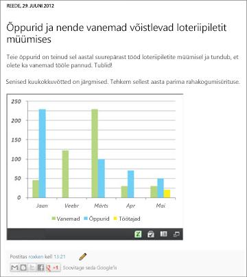 Embedded Excel workbook