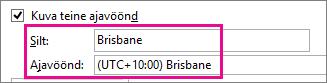 Ajavöönd: Brisbane