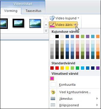 Video värvi muutmine