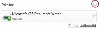 Publisheri printeri olek