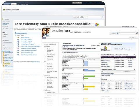 SharePoint Designer 2010 abil loodavad saidid