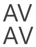 Võrdluse koondatud märki (üleval) ja un koondatud märgid.