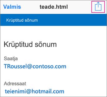 OME sõnumivaatur Gmailiga 2