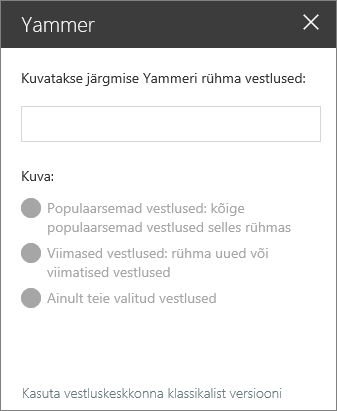Yammeri web osa otsinguriba