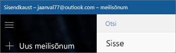 Lindi ilme Windows 10 meilirakenduse korral