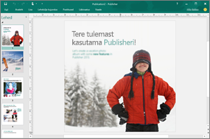 Publisheri kasutamine professionaalse väljanägemisega infolehtede, voldikute ja muude publikatsioonide loomiseks