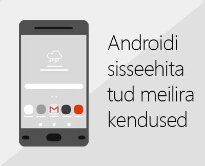 Mõne Androidi sisseehitatud meilirakenduse häälestamiseks klõpsake siin