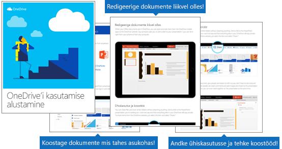 """E-raamat """"OneDrive'i kasutamise alustamine"""""""