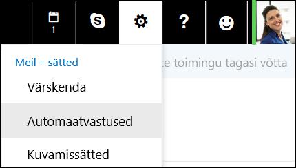 Outlooki veebirakenduse automaatvastused