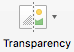 Menüü Pildivorming nupp Läbipaistvus