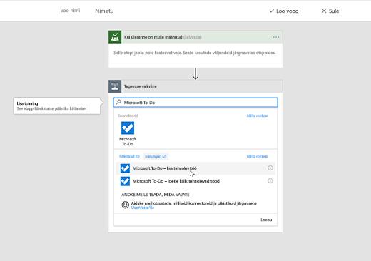 Kuvatõmmisel on valitud Microsoft To-Do