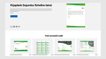 Business dokumendi Mallid veebisaidil templates.office.com