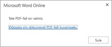 dda0a797e30 PDF-faili kuvamiseks klõpsake linki