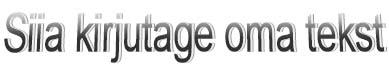 Tavapäraselt vormindatud WordArt-objekt rakenduses Publisher 2010