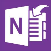 OneNote'i saatmise ikoon