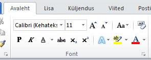 Jaotis font