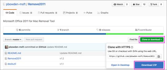 Laadige alla tööriist Remove2011.