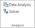Andmeanalüüs ja Solver