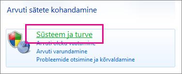 Windows 7 juhtpaneel