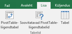 PivotTable