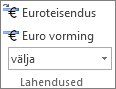 Euro Conversion ja Euro Formatting