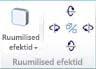 Jaotis WordArt-objektide ruumilised efektid rakenduses Publisher 2010