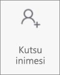 """Rakenduse OneDrive Androidi jaoks nupp """"Kutsu inimesi"""""""