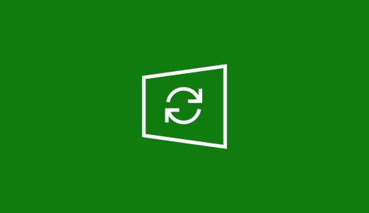 Windows 11 värskenduste sünkroonimisikoon