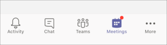 nupp koosolekud – mobiilne screenshot