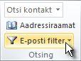 Lindi nupp E-posti filter