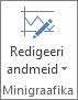 Jaotise Minigraafika nupp Redigeeri andmeid