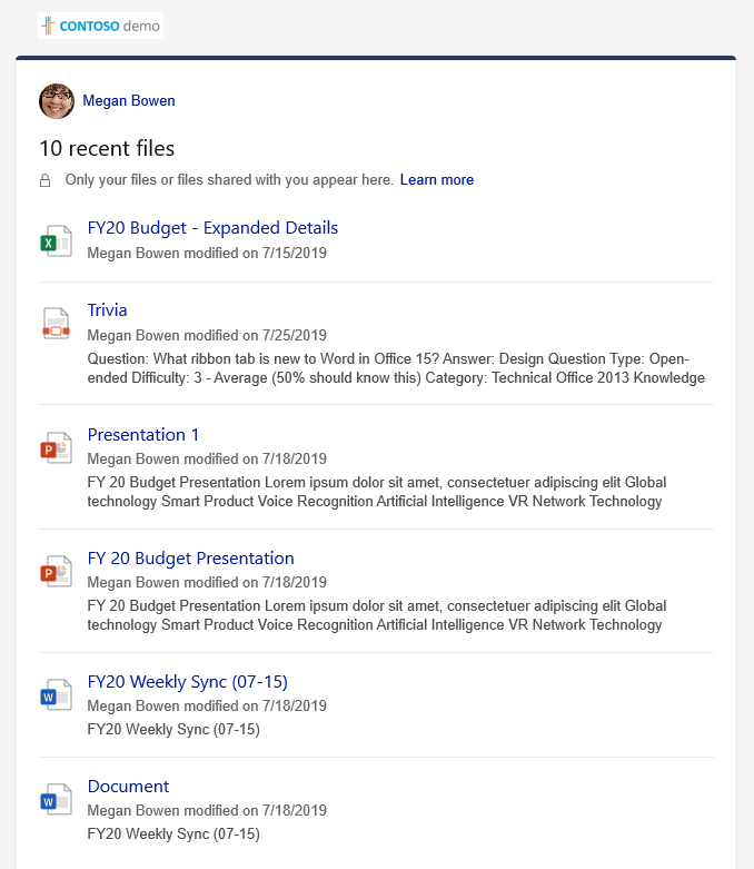 Paanil Viimatised failide üksikasjad kuvatakse mitu faili.