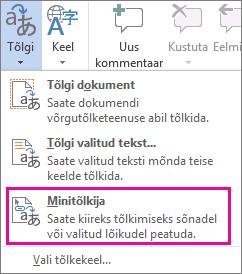 Minitõlkija.