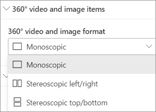 360 video ja 360 pildi vorming