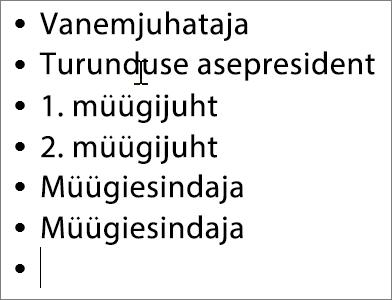 Nimede lisamine skeemil olevatele väljadele