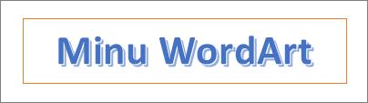 WordArt-objektide näited