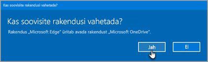 Office 365 vahetamise rakenduste küsimus