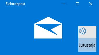 Windows 10 meilirakenduse ja jutustaja ülevaade