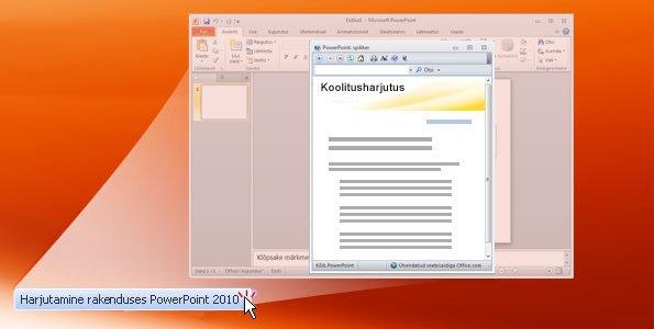 PowerPoint 2010 harjutus