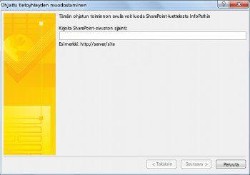 SharePoint-luettelolomakkeen mukauttaminen