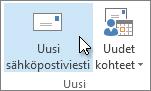 Valitse uusi sähköpostiviesti.