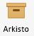 Arkisto-painike Outlook for Macin valintanauhassa