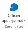 Officen apusovellukset -painike