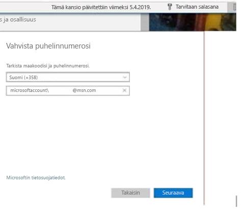 Outlook.com-puhelinkehote